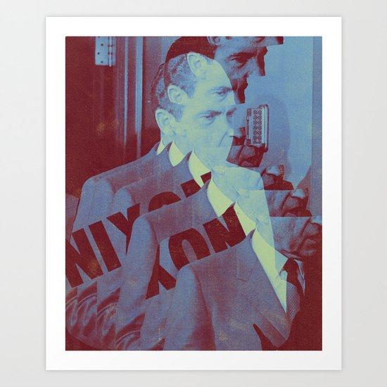 Nixon Art Print