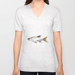 Swim Free Fishy Unisex V-Neck
