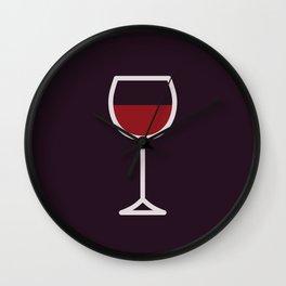 Wine - Icon Prints: Drinks Series Wall Clock