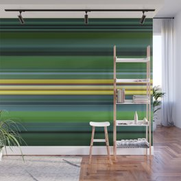 The Yellow Line Wall Mural