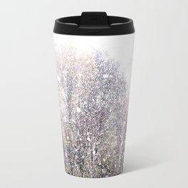 Snow in early fall(1)  Travel Mug