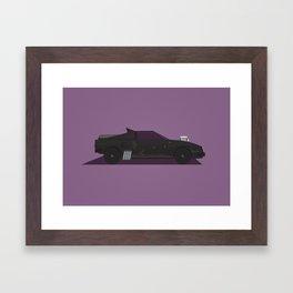 MadMax V8 Interceptor Framed Art Print