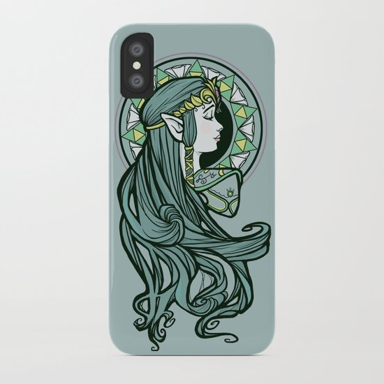 Zelda Nouveau iPhone Case