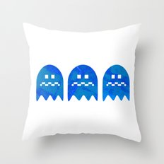 The Very Hungry Pacapillar - Variant Throw Pillow
