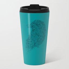 Tosca line art bird illustration Travel Mug