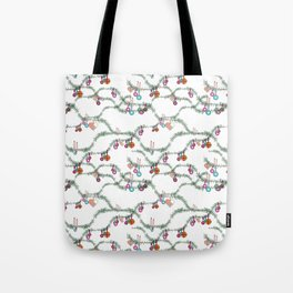 Winter holiday kitsch Tote Bag