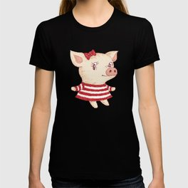 Cue Pig girl T-shirt