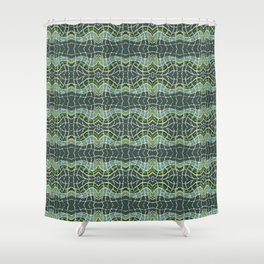 Uncertainty of consciousness. Natural 2. Shower Curtain