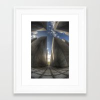 jewish Framed Art Prints featuring Jewish memorial wide by Cozmic Photos