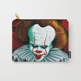 The Dancing Clown - Pennywise IT - Vector - Stephen King Character Carry-All Pouch