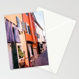 Colorfull houses | Italiy Venice Caorle  Stationery Cards
