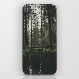 Faded Forest iPhone Skin