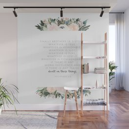 Dwell Richly Wall Mural