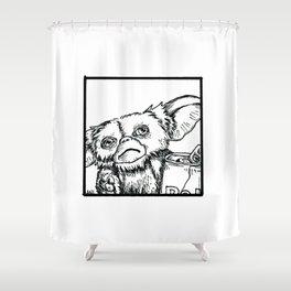 Brain Fodder - Mogwai Shower Curtain