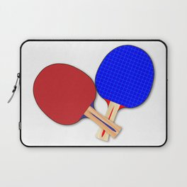 Two Table Tennis Bats Laptop Sleeve