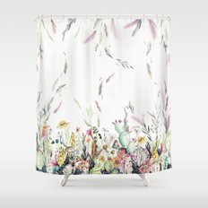 Santa Fe Cactus Love Shower Curtain