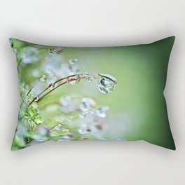 When you hear the fairies sing, you'll know you found my secret hiding place... Rectangular Pillow