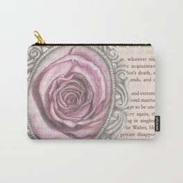 Silver & Rose Carry-All Pouch