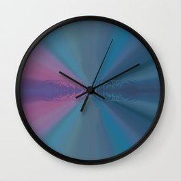 Multi Pastel Circular Ring Abstract Desig Wall Clock