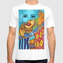 Blue Pashmina T-shirt
