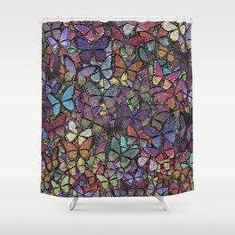 butterfly phantasm Shower Curtain