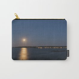 Moon light reflection Rockport Harbor Carry-All Pouch