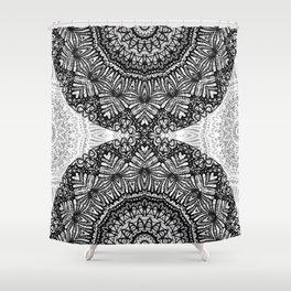 Mandala Mehndi Style G444 Shower Curtain