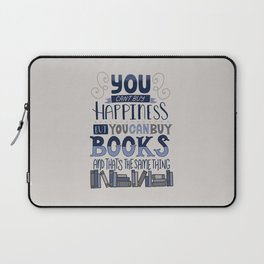 Happiness and Books Laptop Sleeve