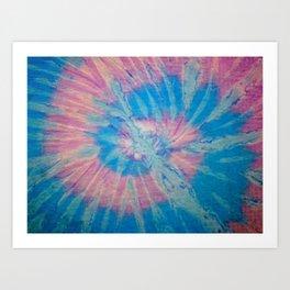 Tie Dye 012 Art Print