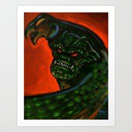 Armstrong's Nemesis Art Print