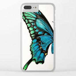 SWALLOW TAIL Clear iPhone Case