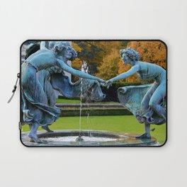 Dancing Nymphs - Den Brandt Castle - Antwerp Laptop Sleeve