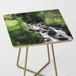 Swiss Alps : stream Side Table