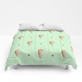 Smiley face Comforters