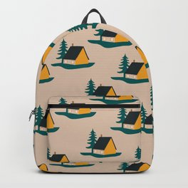 Let's stay in the cabin Backpack