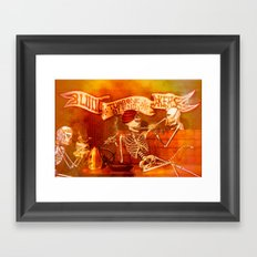 BLOOD SMOKERS - 022 Framed Art Print