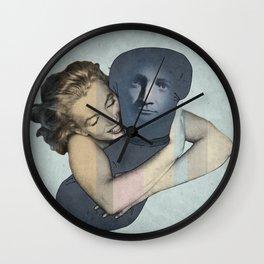 The Pillowman neads a hug Wall Clock