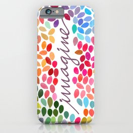 Imagine [Collaboration with Garima Dhawan] iPhone Case