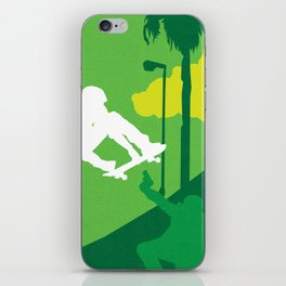 80s TEEN MOVIES :: GLEAMING THE CUBE iPhone Skin