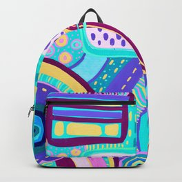 Pop Abstract Backpack