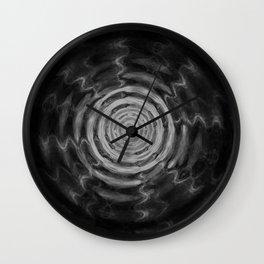 Ripples_Black Wall Clock