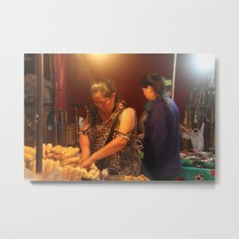 Women at work2 Metal Print