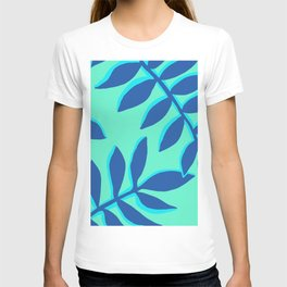 Blue Floral Branches T-shirt