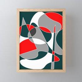 Abstract #76 Framed Mini Art Print