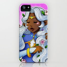 Allura flowers iPhone Case