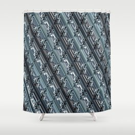 Encrypted Shower Curtain