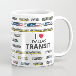 The Transit of Greater Dallas Coffee Mug