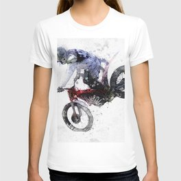 Nose Stand - Motocross Move T-shirt
