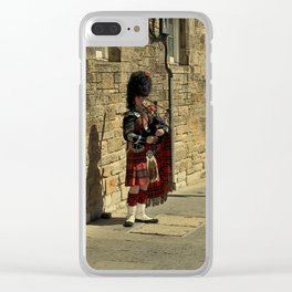 The Lonely Busker #2 Clear iPhone Case