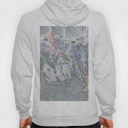 Jackson Hole Mountain Resort Trail Map Hoody